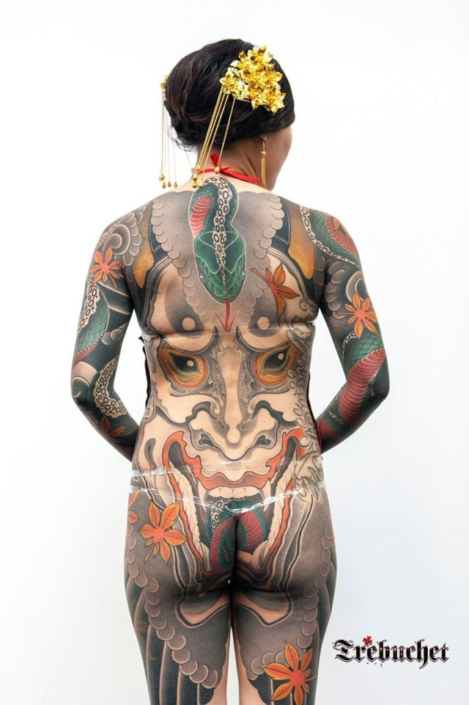 Japanese tattoo at London Tattoo Convention 2016
