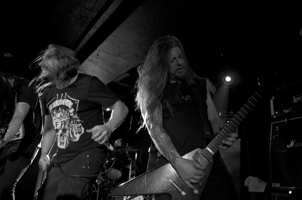 Entombed A.D. onstage at Camden Underworld November 2016