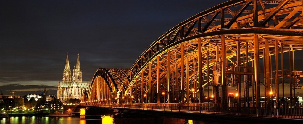 Cologne, cathedral, city