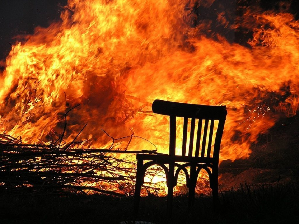 chair, fire, biological aging