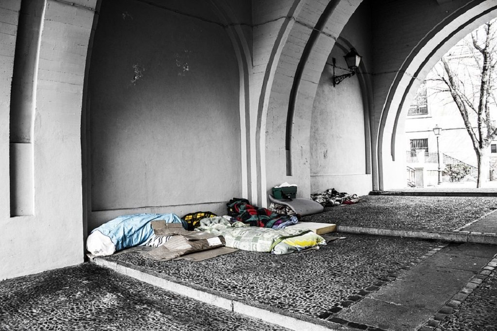 homeless, Conversation with a Conservative