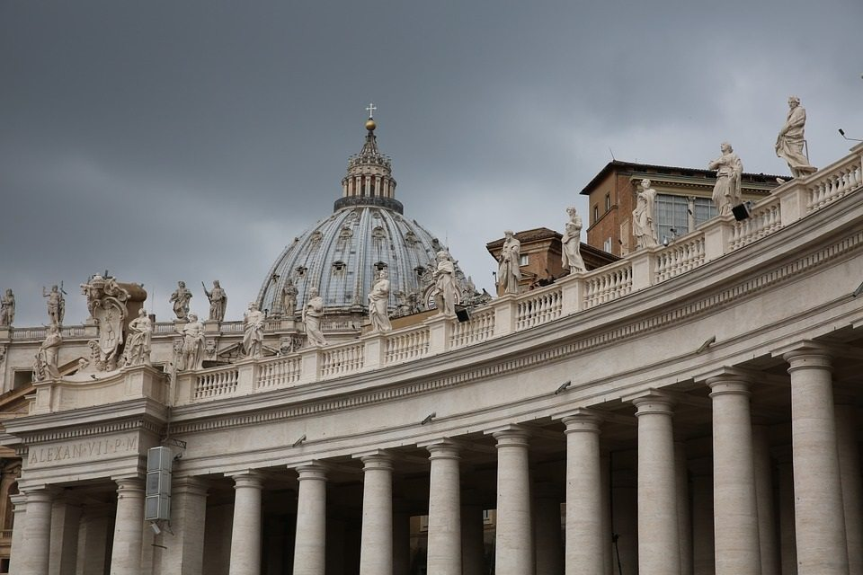 Lines and Boundaries, St Peter's Basilica
