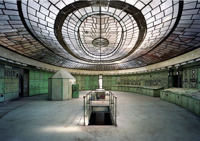 Control Room, Kelenfold Power Station, Budapest (2012)