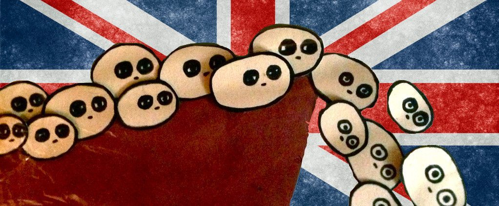 Brexit Lemmings, leaping off a patriotic cliff