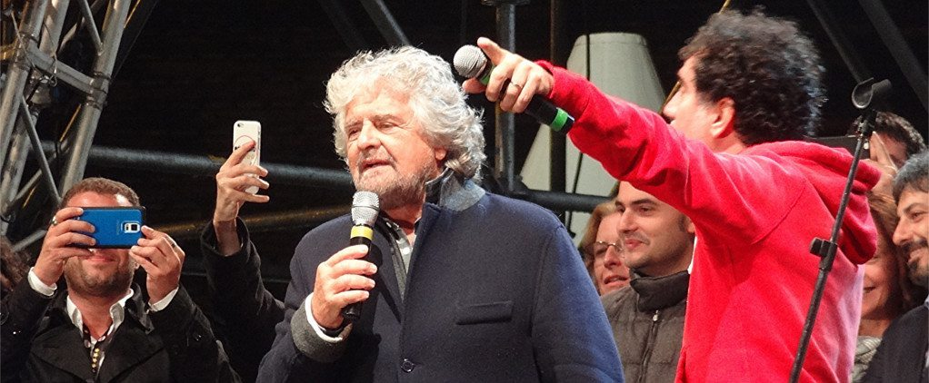 Beppe Grillo is a clear example of the line between Comedy & Politics being crossed. But is that a good thing?