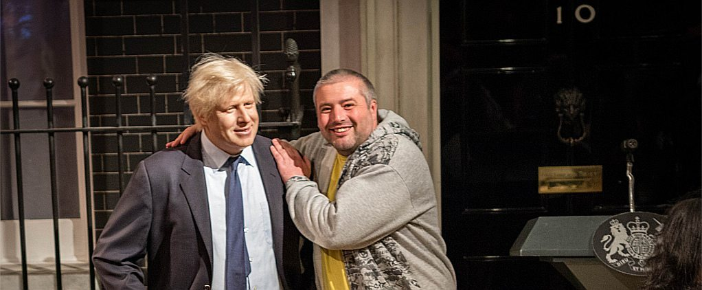 Boris Johnson is represented here by a wax-work. But can we tell the difference?