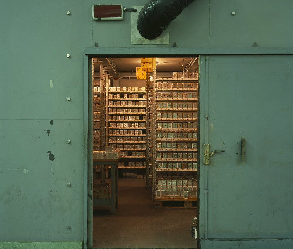 LNGS: Opera Archive. From Material Sight 2018 Fiona Crisp