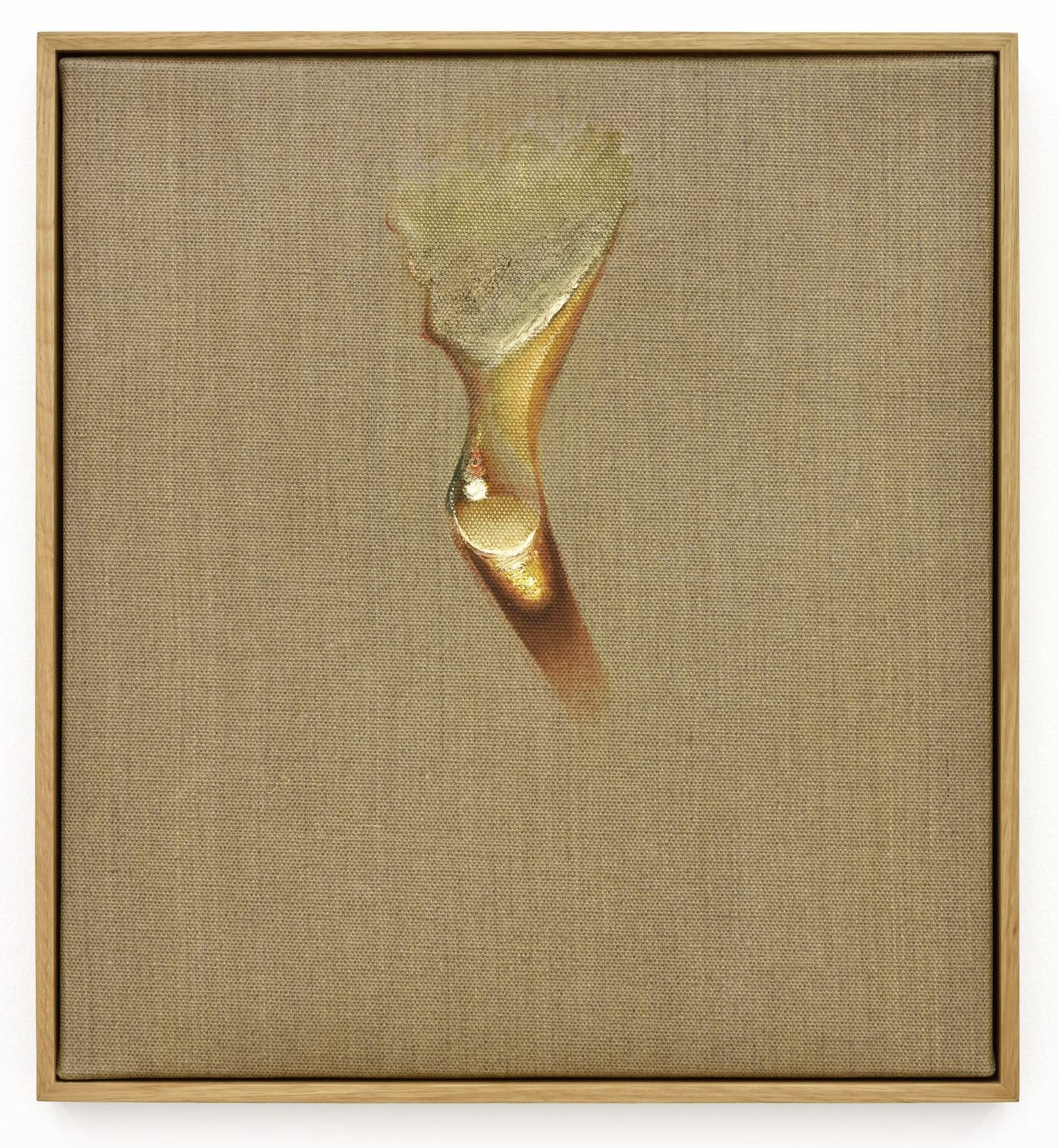 Kim Tschang-Yeul, Waterdrop, 1974 - Oil on canvas - 45 x 41 cm, 17 3/4 x 16 1/8 in / © The Estate of Kim Tschang-Yeul - Courtesy of the Estate and Almine Rech - Photo: Rebecca Fanuele