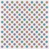 optical painting of coloured circles
