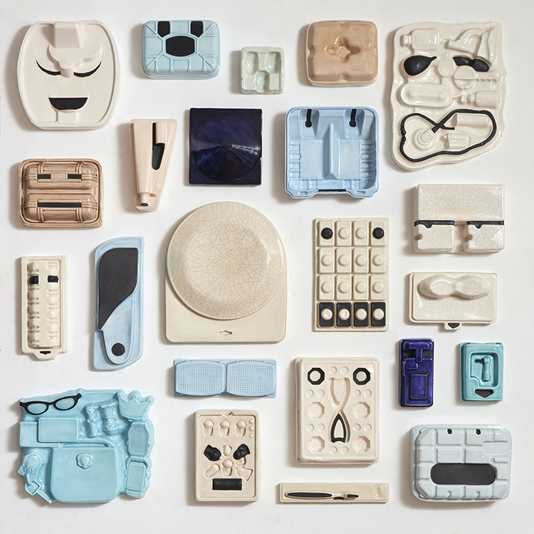 collage of objects