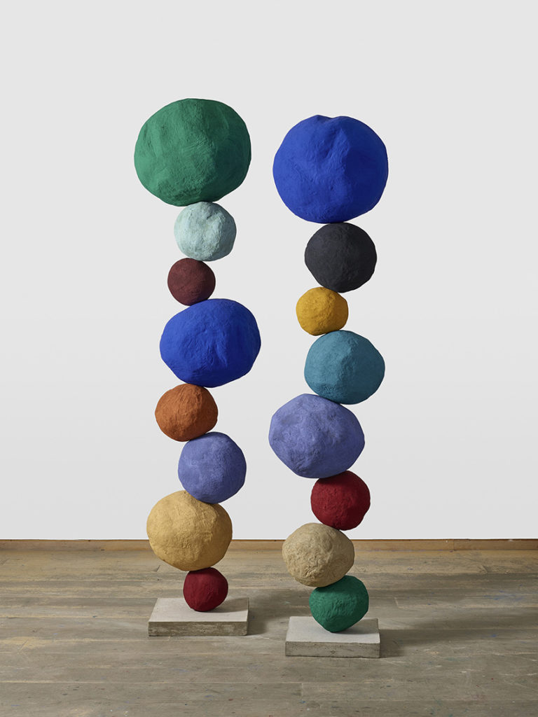 colourful abstract sculptures