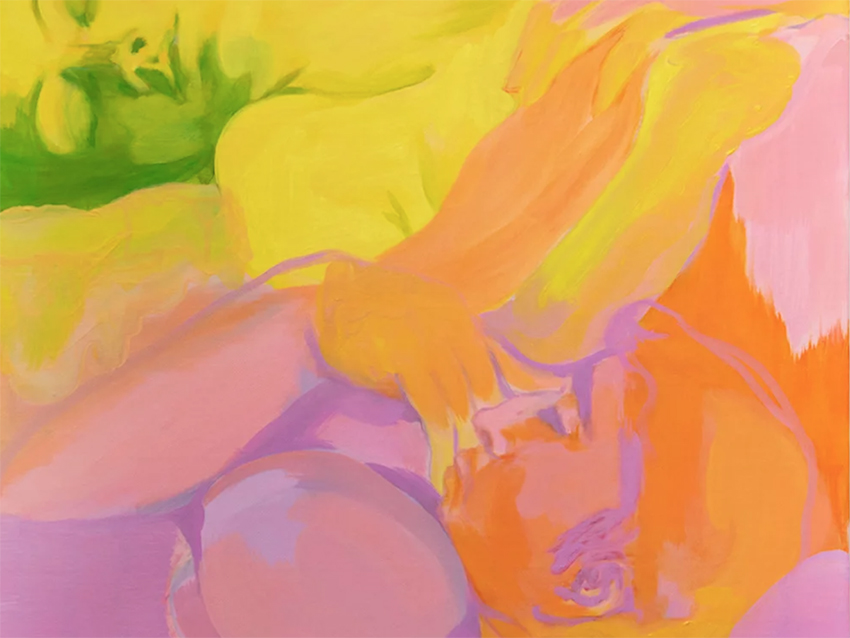 colourful figurative painting